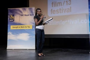 "Shakirah, who is also the scriptwriter of the Bajan movie PAYDAY, which is currently being screened in Barbadian cinemas, explained that winning the RBC Focus Filmmaker's Pitch Prize was her ""first validation as a filmmaker from a prestigious body such as the Trinidad and Tobago Film Festival""."