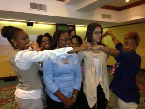 A group of innovative and growth-oriented Caribbean women entrepreneurs and business owners recently gathered at the Accra Beach Hotel to attend a workshop designed to encourage innovation and strengthen entrepreneur networks. Activities included practical and team-building exercises.