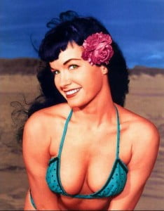 {IMAGE VIA - chasness.files.wordpress.com} The world's greatest pinup model and cult icon, Bettie Page, recounts the true story of how her free expression overcame government witch-hunts to help launch America's sexual revolution.