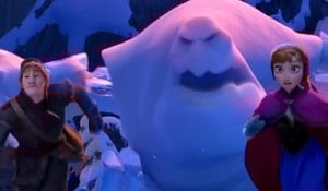 {IMAGE VIA - aceshowbi.com} Fearless optimist Anna teams up with Kristoff in an epic journey, encountering Everest-like conditions, and a hilarious snowman named Olaf in a race to find Anna's sister Elsa, whose icy powers have trapped the kingdom in eternal winter.