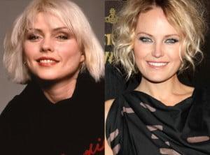 {IMAGE VIA - eonline.com} Meet Malin Akerman (right) as Debbie Harry (left), aka Blondie