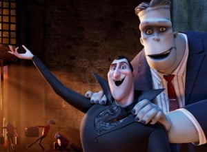 Dracula (Adam Sandler), who operates a high-end resort away from the human world, becomes overprotective when a boy discovers the resort and falls for the count's teenaged daughter, Mavis (Selena Gomez). Directed by Genndy Tartakovsky.