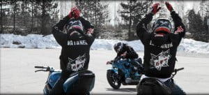 {IMAGE VIA - stuntridemag.com} The passion of the riders and the soul of their machines.