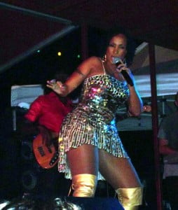 Alison Hinds proving why she is still Queen of Soca