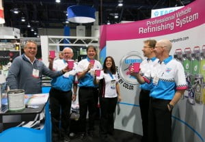"""First of many to come! We have had incredible success here in Vegas. We've made a considerable amount of prospective customers all over the country (US) and have confidently reinforced our brand with our existing customer base. A big thanks to our SEMA team, this is a proud moment for us!"" Foster raved on closing the show."