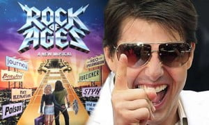 With stars in their eyes, the young lovers chase their dreams, but a misunderstanding involving rock star Stacee Jaxx (Tom Cruise) threatens to tear them apart. Directed by Adam Shankman.