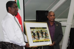 HIV policy with Ministry of Health  and Defense Force in Suriname