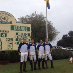 Harry Manning 2 goals, Wayne Archer 2 goals, Louis (Guille) Clerici 1 goal and Lucas Nicolao 2 goals; The polo is at The Villages in Lake Sumter Landing, Leesburg. There will be Bajans in Wellington for show jumping in the beginning of December...