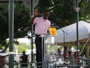 "This is not to say ""Malik with Teeth,"" as Dame Billie Miller calls Mascoll, did not have valid points... He did indicate how Barbados has had no new roads nor buildings in the last six years!"