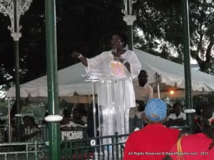 She also admonished if Barbados does not access $500 million by March 2014 that the country is like a negligent diabetic cut at the knee and facing sepsis of the hip!