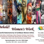 Womans Work Invitation