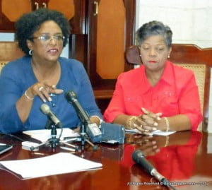 Last night, we received the third downgrade in this month. Of greater concern, this was another double downgrade with a Negative Outlook by Moody's AFTER the announcement by Minster Sinckler of the freezing of 5500 jobs, with the immediate dismissal of 3000 people by March. They recognize that it does not get us to stability and safety. They have said that if the Reserves continue to fall and the Central Bank continues to print money they will downgrade again. As Bajans say, to be forewarned is to be forearmed. The Board of the Central Bank and the Governor must recognize their duty and what their actions will lead to if they print money again to meet Government's uncontrollable deficit.
