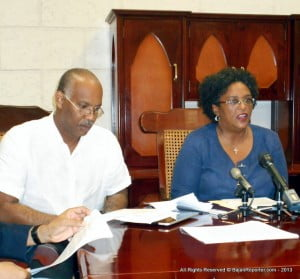 We believe that this group should be no more than 6 or 7 persons. Nominiations should come from the Government, Labour, Private Sector and the Opposition. We are prepared to nominate persons of the highest caliber to serve – we have a former Prime Minister who distinguished himself as one of the finest Finance Ministers in the Caribbean; we have Erskine Griffith who has served with distinction as this country's Director of Finance and Economic Affairs and who was there in previous crises, especially 1991 as Permanent Secretary, Finance.