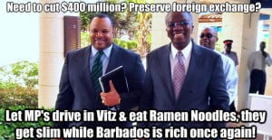 Barbados needed to be rebuilt - Faster and Stronger... Admitted only 4 months after Elections... This aired 28th June and got 13 Likes, 5 Comments plus 21 Shares at Facebook! (CLICK FOR BIGGER)