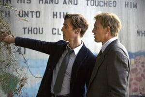 During the review of the case, Hart and Cohle's personal backstories and often-tense relationship overlap and converge as a major focal point. Hart, an outgoing Louisiana native, is a family man whose marriage is wavering under the pressures and distractions of his work; meanwhile, Cohle is a solitary, pessimistic ex-narcotics detective from Texas.