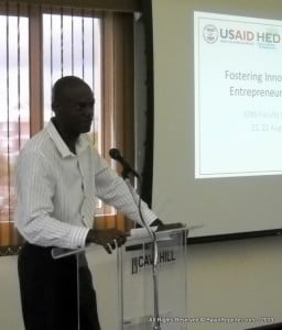 The USAID JOBS project held a two day symposium at The Cave Hill School of Business, its primary focus to foster an environment where students can gain invaluable skills which can be applied to new businesses, or to the growth of existing businesses through entrepreneurship.