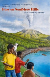 Fury on Soufriere Hills is one of four books in the Caribbean Adventure Series by Carol Mitchell which has been selected by the Montserrat Ministry of Education to be used as part of its curriculum for sixth graders preparing to take the CXC Primary Exit Assessment.