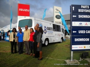 STEP IN THE RIGHT DIRECTION: Republic Bank (Barbados) Limited {RBBL} donates a Van for Mobile Care of Diabetic Sr Citizens' Feet, however, Gov't too must play its part and reduce Duties on products like Glucerna and make it not only cheaper for Diabetics to mind themselves but allow Barbadians to eat Healthily far cheaper than obtains right now!