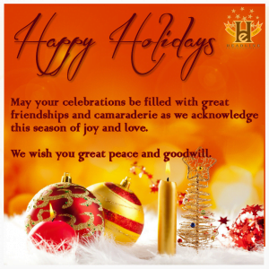 (CLICK FOR BIGGER) Happy Holidays from Headline Entertainment