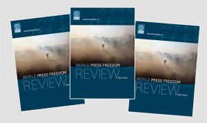 The IPI World Press Freedom Review 2012-2013, just released, highlights press freedom violations and media developments across the globe. In six regional overviews – Africa, North America, Latin America and the Caribbean, Asia and the Pacific, Europe, and the Middle East and North Africa – the Review also puts forward recommendations for legal changes and to address other challenges that affect journalists' ability to carry out their work freely and independently.