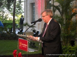 Mr. Parkhill said a major achievement of CIBC FirstCaribbean, in being chosen by The Banker as the 'Best Bank in Barbados' during the period, was the institution diversifying its revenue streams as well as aggressively managing delinquencies and non-performing loans.