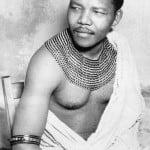 Nelson Mandela bw