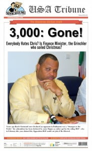 Barbados' civil servants have blue Xmas guessing which 3,000 going home... CLICK FOR BIGGER