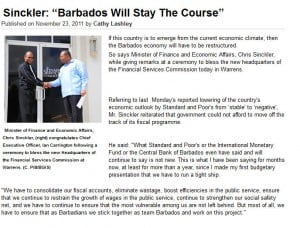 (CLICK FOR BIGGER) What idiot would increase the price of diesel by 77% after promising to 'reduce the cost of living,' and then introduce an inflationary budget, which snatched over $108 mil from Barbadian consumers?