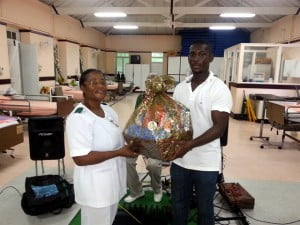 "During their visit, RCSB Community Service Director, Mr. Caleb Welch, presented a care hamper to Senior Nurse, Mrs. Janice Straker who expressed her gratitude to the club for their efforts and kind gesture. ""We know that the residents would have enjoyed this afternoon and we hope to have you visit us again in the not too distant future"" she said."