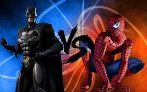 {IMAGE VIA - batnight768.deviantart.com} Just released Boxing Day 2013 - Super Hero MMA: Spiderman Owns Batman & Robin!