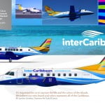 interCaribbean Airways liladesign