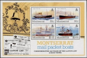 {IMAGE VIA - golowesstamps.com} The new postcode consists of a three-letter code and four digits. MSR is the identifying code for Montserrat, followed by four numbers for example 1110, which designates mail going to the General Post Office and mailboxes.