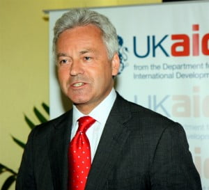 Snow was holidaying on a nearby island - where, coincidentally, one of the Ministers in Britain's Department for International Development, Alan Duncan, was also on vacation. The two agreed to travel to St Vincent to see the damage that, judging from the underlying distress in his writing, affected Snow deeply.
