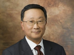 {IAMGE VIA - techvibes.com} CESG is held each January as part of the world-renowned International Consumer Electronics Show (CES). John Chen, Chief Executive Officer of BlackBerry addressed key members of congress and government officials on Monday at the show.