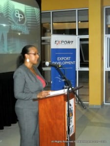 """The announcement of this facility is timely in view of many of the regions private sector requiring financial assistance to develop or enhance their businesses to be more competitive in the international market"" expressed Pamela Coke-Hamilton, Executive Director at Caribbean Export."