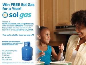CLICK FOR BIGGER: Win FREE Sol Gas for a Year!