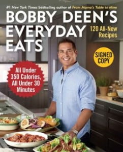 {IMAGE VIA - barnesandnoble.com} Beloved food personality and #1 New York Times bestselling author Bobby Deen is back with 120 new, simple, mouthwatering recipes—all under 350 calories—that can be prepared from start to finish in under 30 minutes.