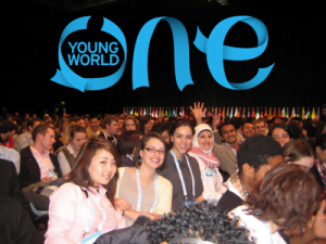 {IMAGE VIA - youthworkforum.ie} One Young World was founded in 2009 and every year the Organization brings together young leaders from across the globe to find innovative solutions for some of the world's most pressing issues including: climate change, youth unemployment, human rights, security, HIV/AIDS and governance. The Summit serves as a space for the most talented change makers to formulate and share innovative solutions for some of the world's most pressing issues.