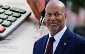 "Bermudian Finance Minister, Bob Richards... Viera's request continues - ""In general, it is our hope that a clear statement from the Finance Minister will be made on when Bermuda can expect to see a balanced budget, with plans for addressing this now and in the immediate future."