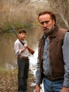 {IMAGE VIA - imdb.com} A Movie directed by David Gordon Green Starring Nicolas Cage, Tye Sheridan, Gary Poulter, Ronnie Gene Blevins Release Date: In Theaters April 11th, 2014
