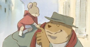 {IMAGE VIA - animationmagazine.net} The story of an unlikely friendship between a bear, Ernest, and a young mouse named Celestine.