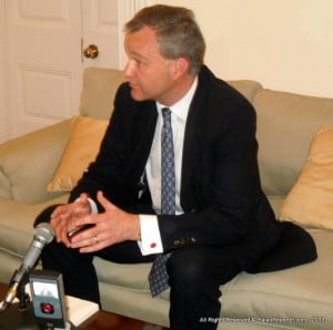 Mark Simmonds MP is Minister of State in the UK's Foreign and Commonwealth Office.