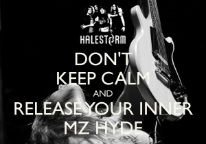 "{IMAGE VIA - fanpop.com} Check out Halestorm's new video for ""Mz.Hyde."" The video was directed by Award-winning Filmmaker Daniel E Catullo III and Produced by The City Drive Entertainment Group. The video is a montage of live images captured while out on the European Tour with Alter Bridge."