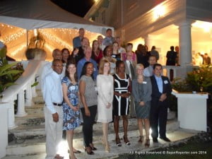 The British High Commission, through UK Trade and Investment (UKTI), received the small group of UK exporters and support their visit.