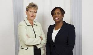 Dr. Juliet Skinner and Dr. Elizabeth Holder