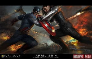 """{IMAGE VIA - collider.com} The First Avenger returns for an all-new cinematic adventure April 4 in Marvel's """"Captain America: The Winter Soldier""""!"""