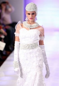 The Queen of the Brides collection represents inspirational women of royalty from various cultures throughout history. The collection exemplifies cultures, as each gown represents a woman of royalty who has left an indelible mark on humanity.