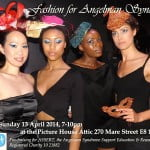 ANGELMAN SYNDROME CHARITY FASHION SHOW FLYER