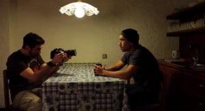 (SCREENSHOT FROM TRAILER) Directors: Derek Lee, Clif Prowse Starring: Derek Lee, Baya Rehaz, Clif Prowse