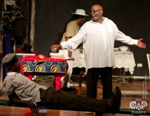 The literary excerpts were lovingly crafted into a near-seamless comedy-drama, with powerful references to Anansi the Spider God & Father of Tall Tales  {PHOTOS COURTESY: Alwyn Kirk Studios}